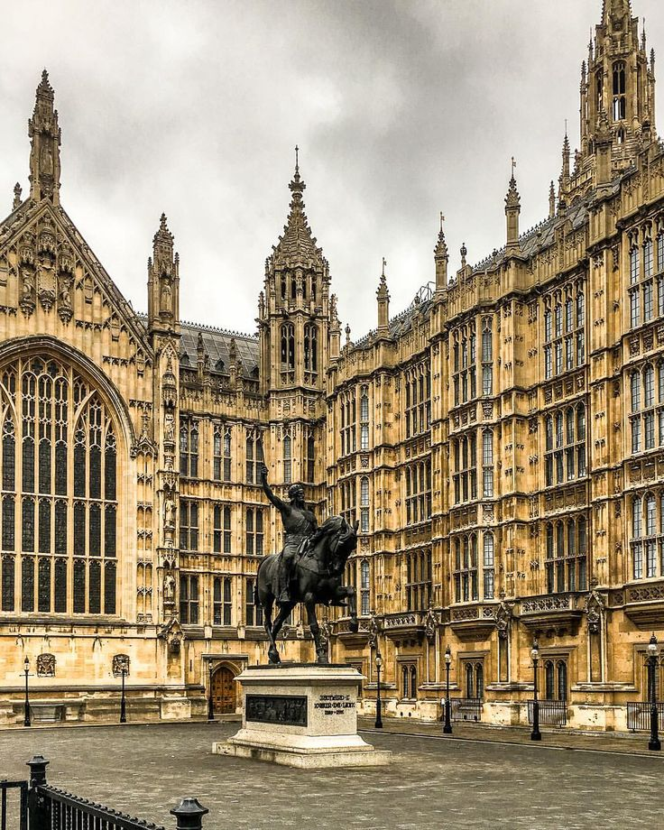 London's Houses of Parliament in Westminster are known for their stunning architecture. #london #westminster #architecture