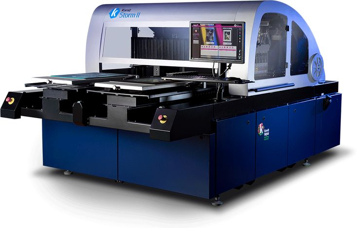 Kornit Storm II: Digital Garment Printer | Kornit Digital