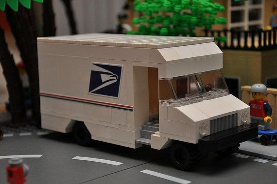 Hey, I found this really awesome Etsy listing at http://www.etsy.com/listing/153124845/custom-lego-city-mail-delivery-truck