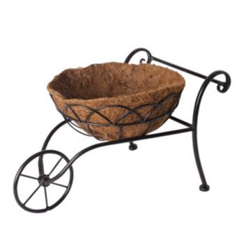 Gerson Rustic Wheelbarrow Planter