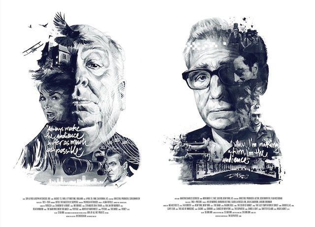 Illustrated Posters Celebrating Famous Movie Directors – Fubiz™