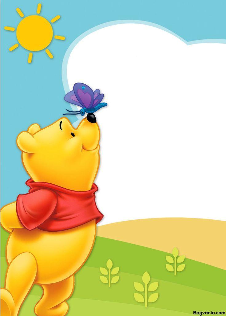 Ehrfurchtige Kostenlose Bedruckbare Winnie The Pooh Geburtstag