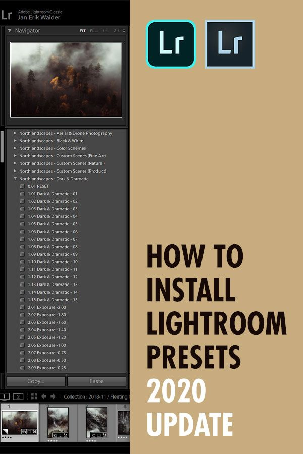 How To Download Xmp Presets To Lightroom Classic