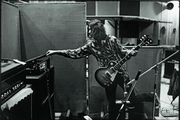 Jimmy Page recording Whole Lotta Love