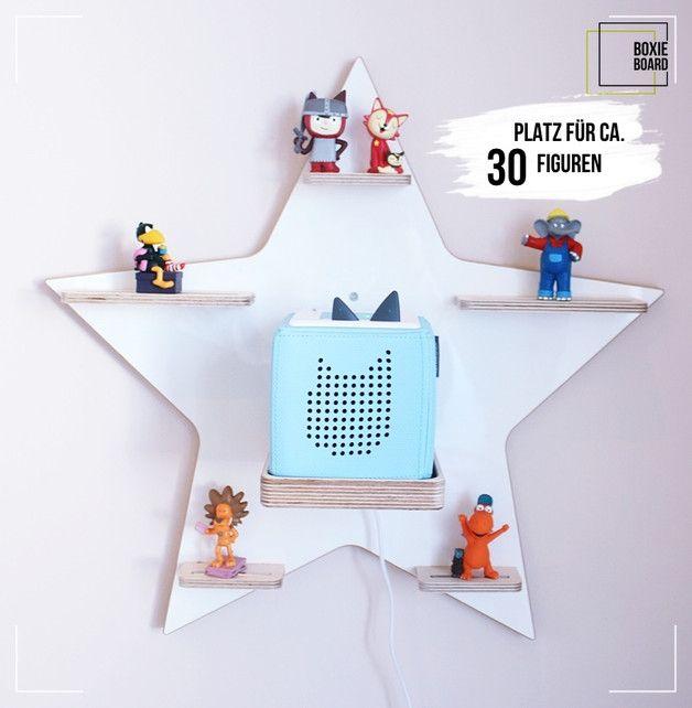 """Boxie Board """"Stern weiß/ Hochglanz""""  – Kinderzimmerdekoration – Wohnaccessoires – Mit Liebe handgemacht in Bad Wünnenberg, Deutschland von Herz & De…"""