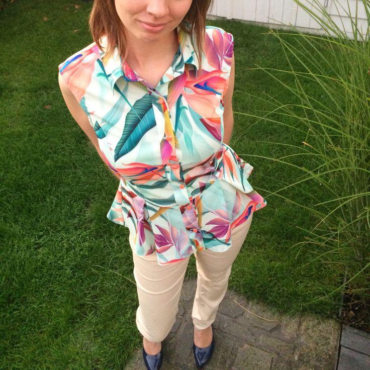 Peplum blouse Butterick B6097
