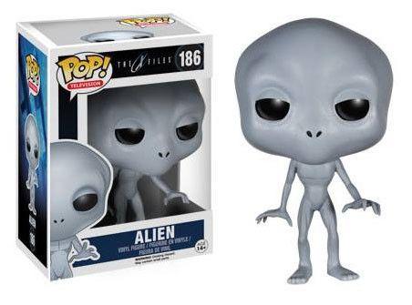 """Akte X POP! Vinyl Figur Alien   coole Alien POP Figur zur Kultserie """"Akte X"""" - detailierte Mini- Figur, ca. 10 cm - Vinyl ( Kunststoff) - Lieferung in schicker Fensterbox Akte X - Hadesflamme - Merchandise - Onlineshop für alles was das (Fan) Herz begehrt!"""