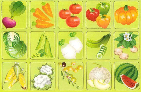 Играть овощи и фрукты картинки