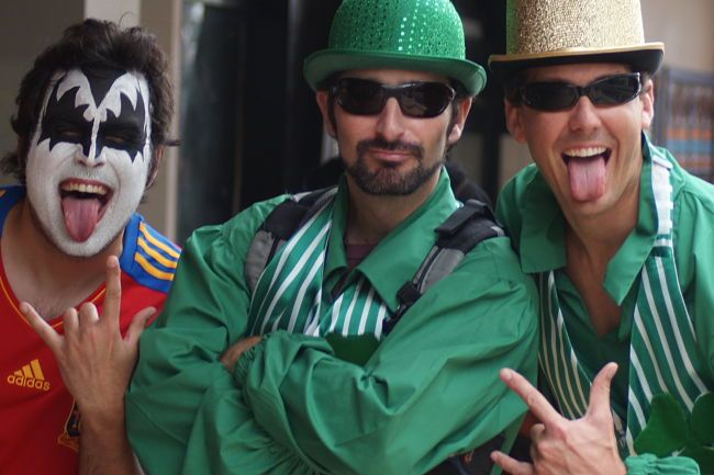 Wellington's famous annual rugby 7's event - perhaps the largest fancy dress party in the world