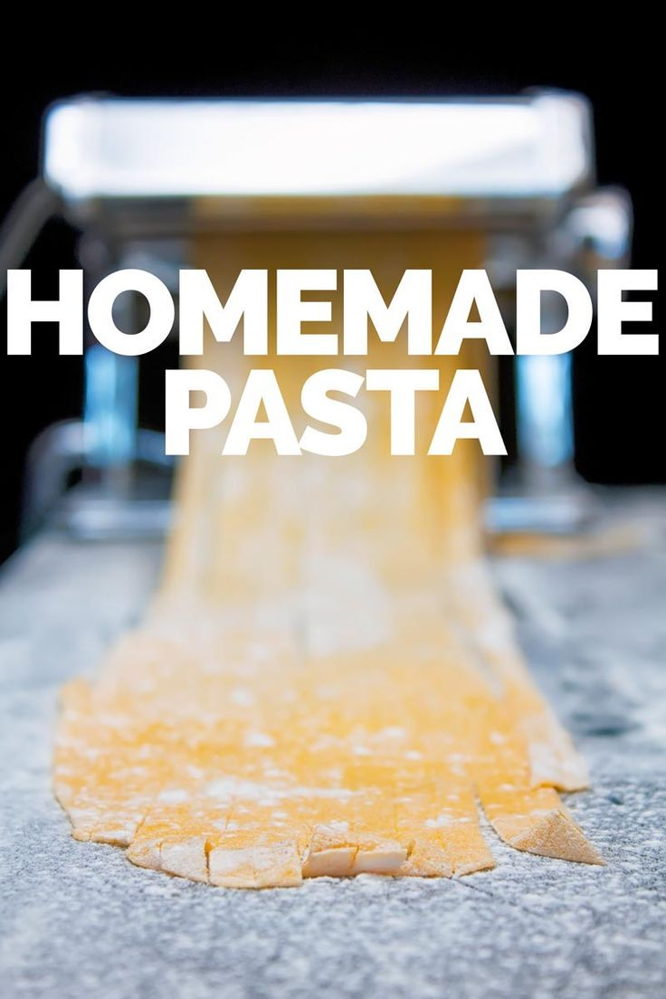 what could be better than having a simple homemade pasta