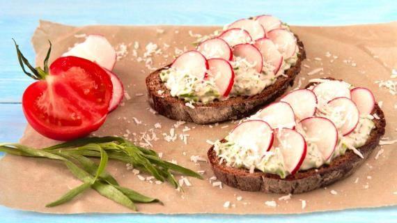 Полезные бутерброды на завтрак , пошаговый рецепт с фото