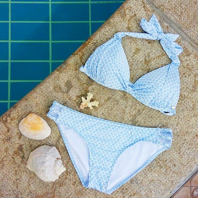 hot summer days - even lovlier with the #CarolineBlomst for #Esprit Beachwear Capsule Collection via @stellawants2die