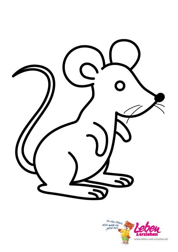 ausmalbilder maus – Ausmalbilder für kinder