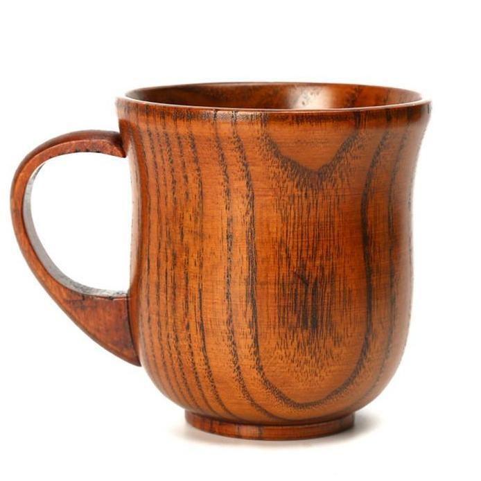 Wooden Coffee Mug Mugs Wood Mug Drinking Cup