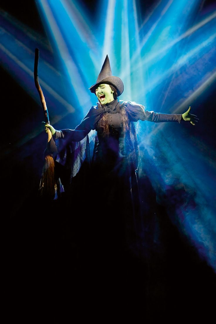 """Defying Gravity from """"Wicked"""" --- probably my favorite Broadway show, song, and scene :D"""