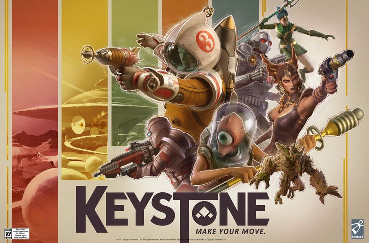 Keystone is a new F2P shooter from the Warfame developer: Digital Extremes' Warframe always seemed kinda alright so this excellent art from…