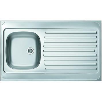 Klassik aanrechtblad X10SA 100-50 RVS 100 cm | Spoelbakken | Keuken & huishoudelijk | GAMMA