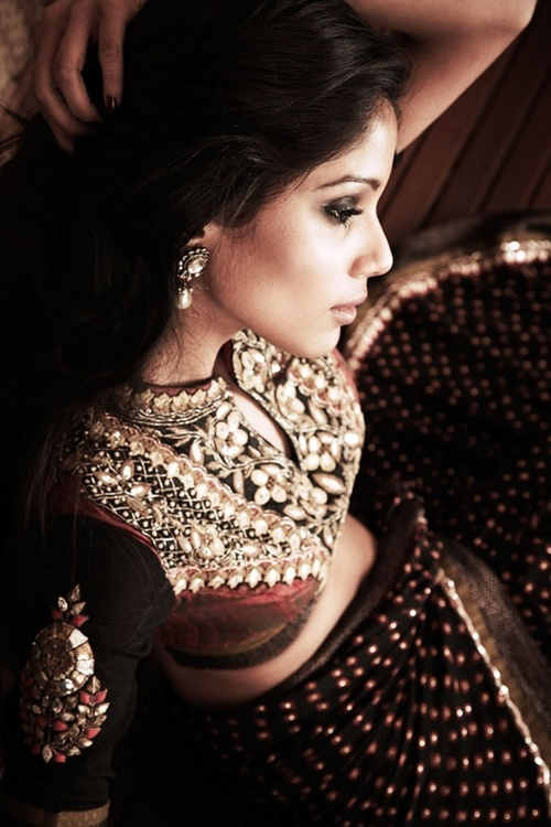 #saree n the blouse