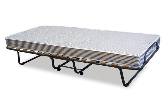 Scott - Inklapbaar bed - antraciet - 80 x 190 cm €80
