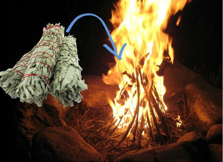 Sage Advice - Easily make your camping site bug-free without the chemical sprays by tossing some sage into your campfire. The burning sage will not only keep the bugs away, but also give your camp a nice aroma