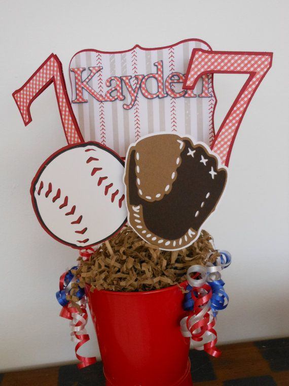 best 25+ baseball centerpiece ideas on pinterest | baseball party