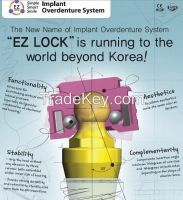 Ez Lock [inovative Implant Overdenture System]