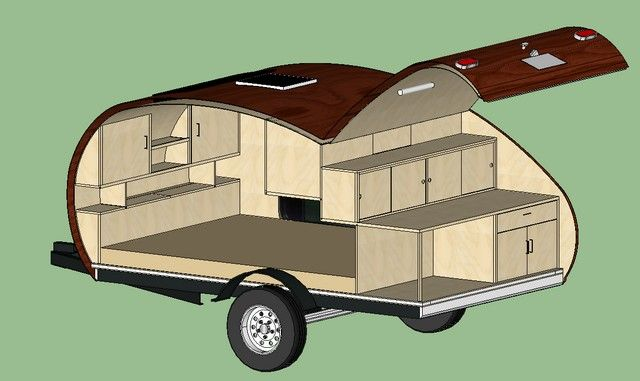 how to build a teardrop camper - Google Search