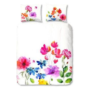 Pościel Flowers Colour, 140x200 cm | Bonami