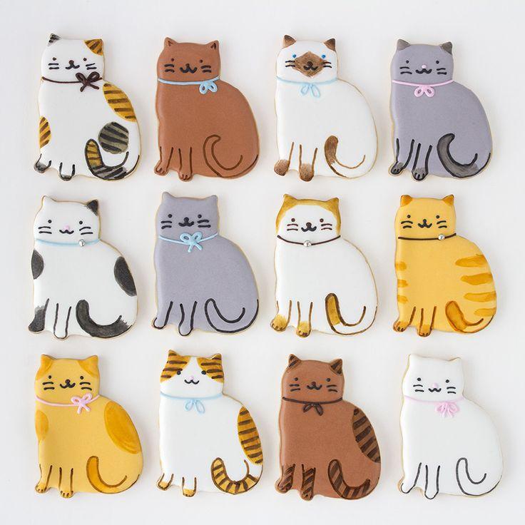 Postreadicción: Galletas decoradas, cupcakes y cakepops: Galletas decoradas de gatos