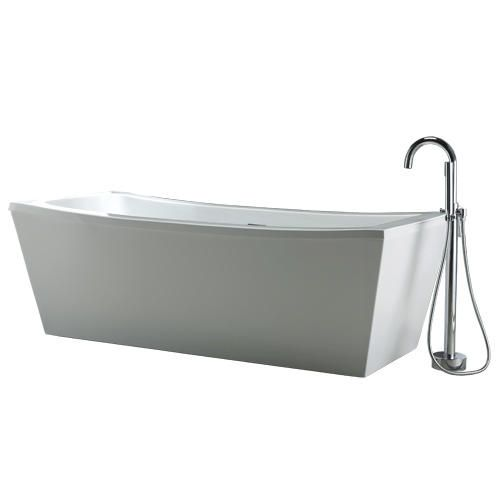 Ove Terra 70 Quot X 34 3 Quot Freestanding Acrylic Bathtub At