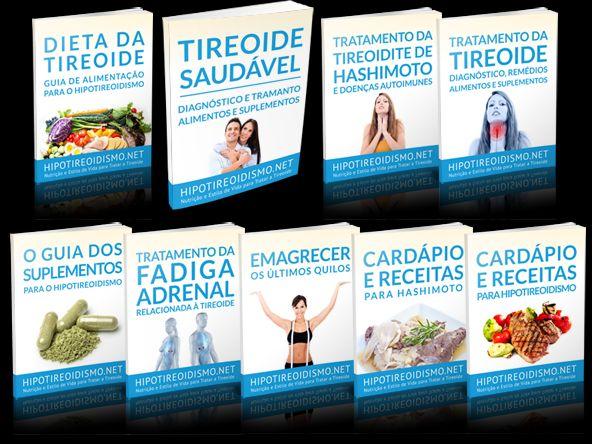 Livros para Tratamento do Hipotireoidismo