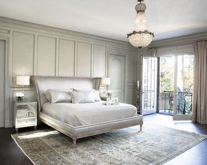 Lake Residence, Contemporary Bedroom