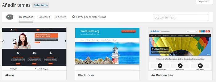Temas wordpress | Wordpress | Pinterest | Wordpress