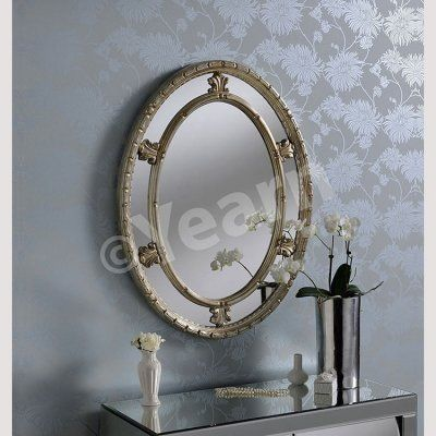 Antique mirror -cameo style Avila gold mirror
