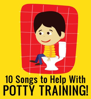 10 Songs to Help Your Toddler While Potty Training- too cute!