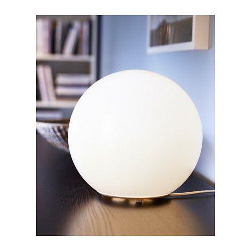 Fado lamp van ikea, om een maan lamp van te maken!