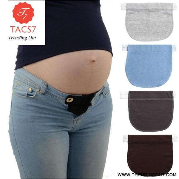 Jeans Button Extender Adjustable Belt Extension Buckle Waist Extension Buckle
