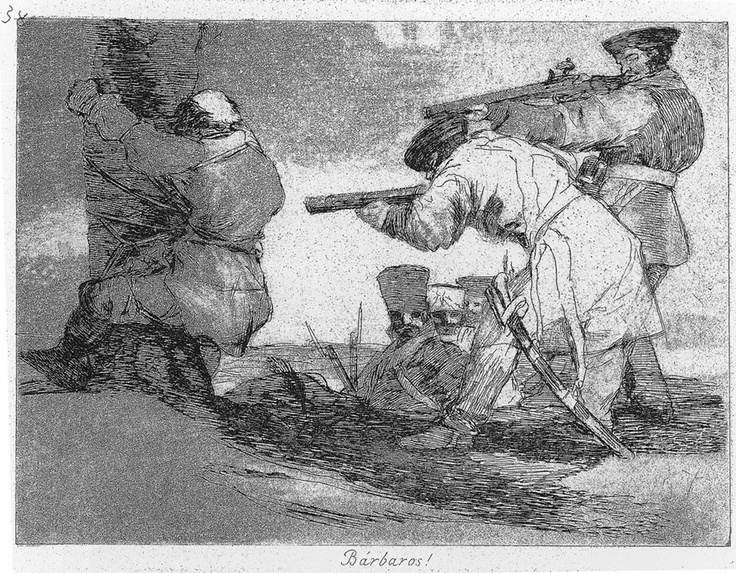 Goya's Disasters of War - Francisco De Goya