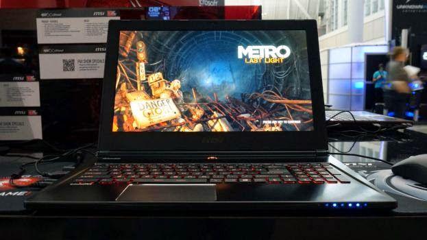 15 inch Laptop Game MSI GS60 Ghost Pro specs dan harga - Laptopbaru.com