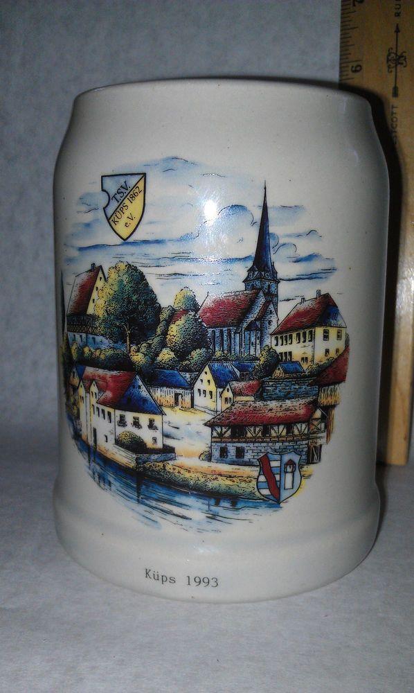 Kups 1993 Roval Bavaria Beer Stein Mug Extra Large Holds .5 L Vintage