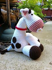 Ravelry: Minnie moo the cow pattern by Sally Titterton