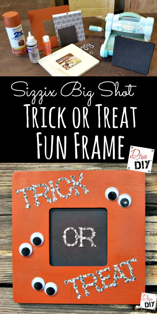 easy diy halloween decoration how to make a fun frame - Homemade Halloween Decorations For Kids