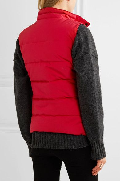 Canada Goose - Freestyle Quilted Shell Down Gilet - Red - xx large