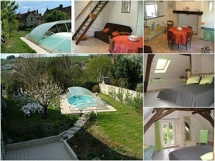 La puitheliere location d 39 un g te avec piscine ext rieure for Camping indre et loire avec piscine couverte