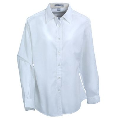 Port Authority Women's White Easy Care Woven Shirt L608 WHT