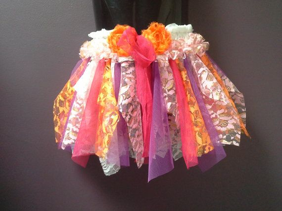 GIRLS TUTU SKIRT, small fairy tutu, dance costume, pink gold orange purple white, lace tulle, 5 6 7 8 year old, birthday tutu, photo prop