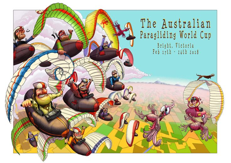World Cup Paragliding in Australia
