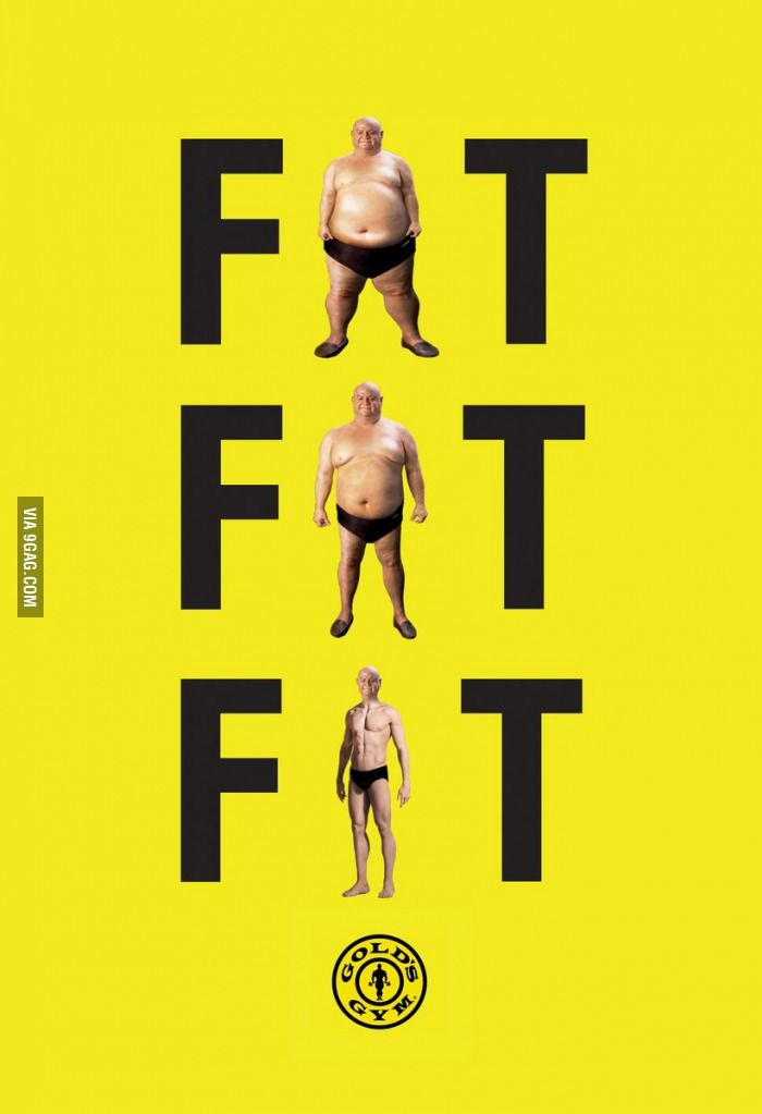 Such a great print ad - Gold's Gym