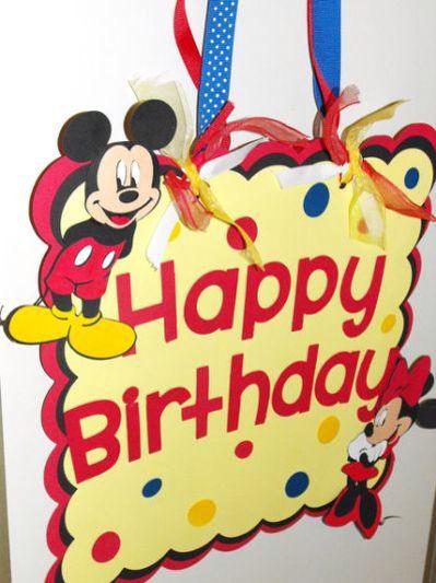 cute mickey wishes happy - photo #19