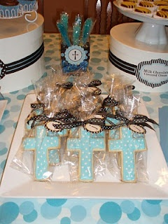 Baptism favors. Regalitos de bautizo